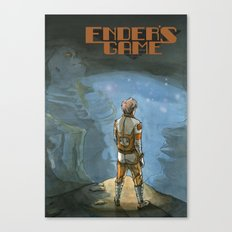 Ender's Game Canvas Print