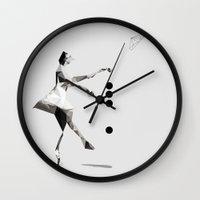 The tourist  Wall Clock