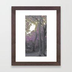 The Color Purple Framed Art Print
