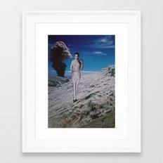 collage 24 Framed Art Print