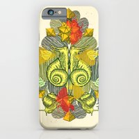 iPhone & iPod Case featuring Snailkiss by chobopop