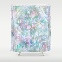 Vibe of the Jungle -G Shower Curtain