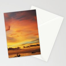 Tangerine Sunset Stationery Cards