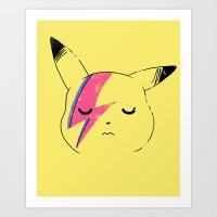 Pika Stardust Art Print