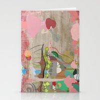 Bubblelandia Stationery Cards