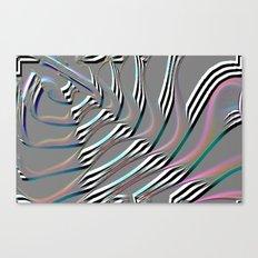 silver ladder Canvas Print