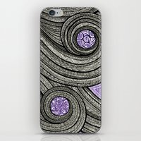 Violet Hour iPhone & iPod Skin