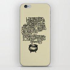 Something smells good! iPhone & iPod Skin