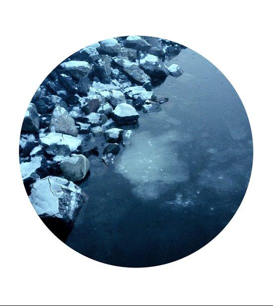Telescope 10 ice  Art Print