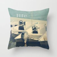 Life Is An Adventure Throw Pillow
