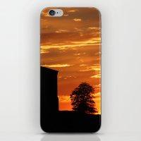 Castle Sunset  - JUSTART © iPhone & iPod Skin