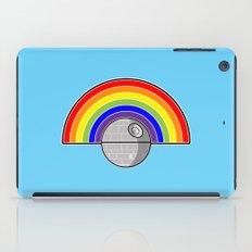 Death Star Rainbow iPad Case