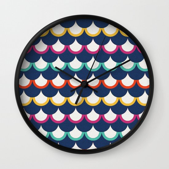 Retro Scales Wall Clock