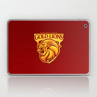 Casterly Rock Gold Lions Laptop & iPad Skin