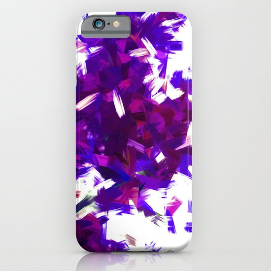 BLOSSOMS - PURPLE BLUE iPhone & iPod Case