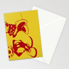 Mickey and Minnie Mouse Stationery Cards