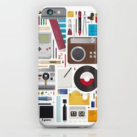 Stuff (white background) iPhone 6 Slim Case