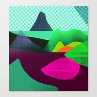 Soft World Canvas Print