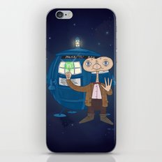 Dr. Who E.T. iPhone & iPod Skin
