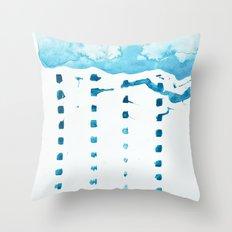 raincloud Throw Pillow