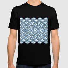Waves SMALL Mens Fitted Tee Black