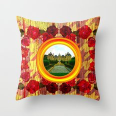LIKE TO KEEP MY MEMORIES IN STYLE - RUSTIC BAROQUE - FRENCH CHATEAU Throw Pillow