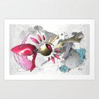 Ray-Gun  Art Print
