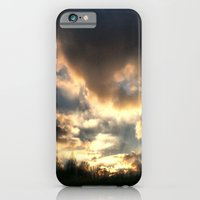 Clouds On Fire iPhone 6 Slim Case