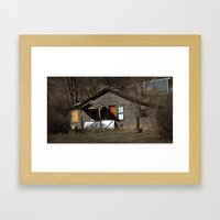 Abandoned House Framed Art Print