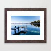 Lake Tahoe 2 Framed Art Print