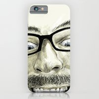 iPhone & iPod Case featuring self-portrait by Matteo Lotti