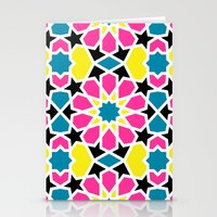 Arabesque CMYK Stationery Cards