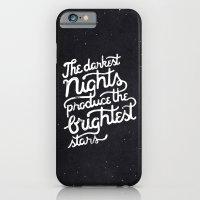 iPhone & iPod Case featuring Darkest Nights by WEAREYAWN