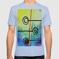 Candy Land Mens Fitted Tee Athletic Blue SMALL