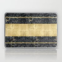 marble in gOld Laptop & iPad Skin