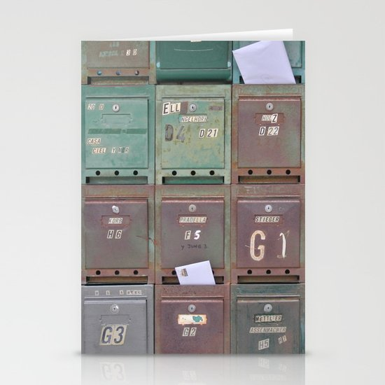 Mailboxes I Stationery Card