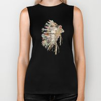 headdress Biker Tank
