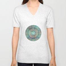 Moon Mandala Unisex V-Neck