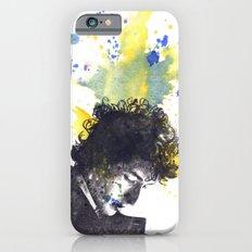 Portrait of Bob Dylan in Color Splash Slim Case iPhone 6s