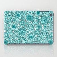 Ceramic Flowers (Atoll) iPad Case