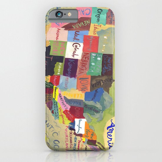 United States Map  iPhone & iPod Case