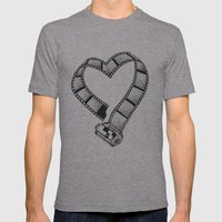 Love Of Photography Mens Fitted Tee Athletic Grey SMALL
