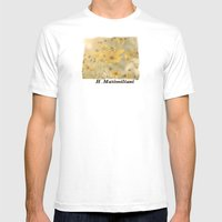 H. Maximiliani Mens Fitted Tee White SMALL