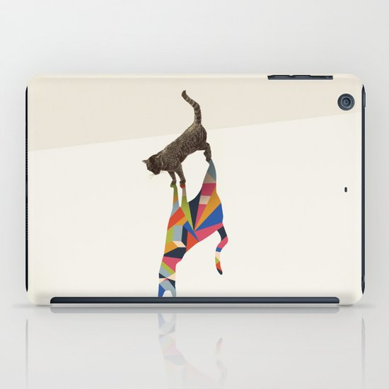 Walking Shadow, Cat iPad Case