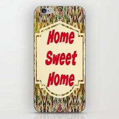 Stained Glass Home Sweet Home  iPhone & iPod Skin