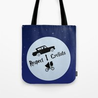 Respect Cyclists Tote Bag