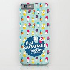 That summer feeling - Blue Slim Case iPhone 6s