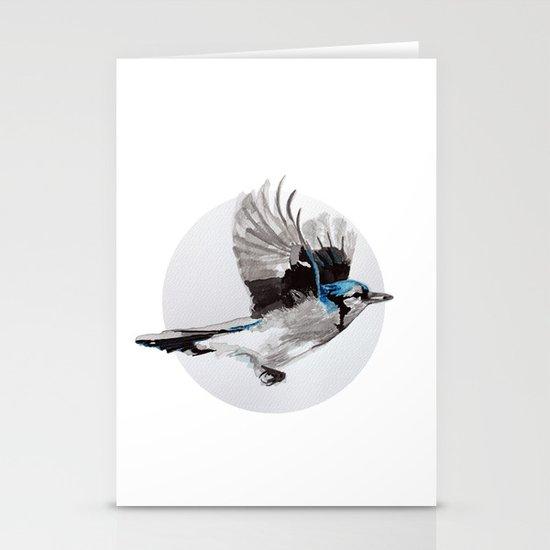 Blue Jay Stationery Card