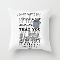 Throw Pillow featuring One Direction: Little Th… by MaFleur
