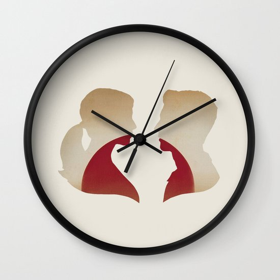 Love & the Setting Sun Wall Clock